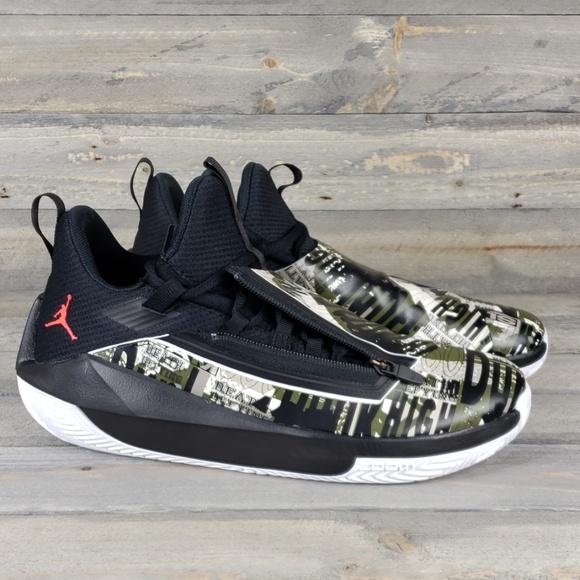 98a8754d8abd New Men s Nike Jordan Jumpman Hustle Shoes